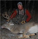 Chris Buschta 2009 Sask. Whitetail